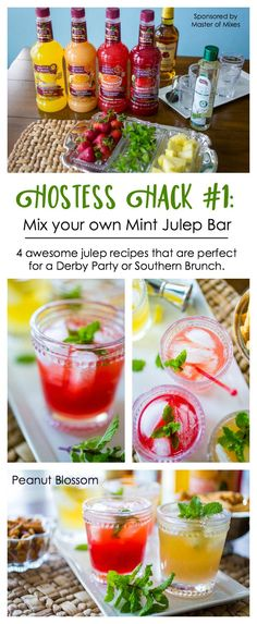 Bless your heart: 10 hostess hacks for the easiest Kentucky Derby Party ever Classic Mint Julep Recipe, Kentucky Derby Food, Kentucky Derby Party Ideas, Derby Recipe, Buffet, Appetizer Recipes, Party Recipes, Heart, Party Games