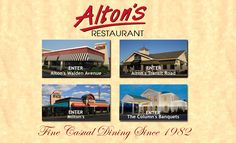 Home style cooking with an awesome clam chowder on Fridays is the 24 hour Altons Restaurant