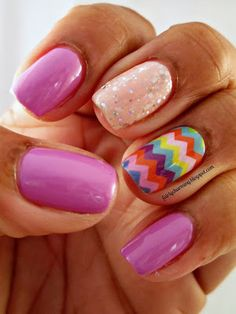 Julep Tina, Sally Hansen Petal Pusher, Jamberry Nail Shields, Jamberry Summer Chevron, nail wrap, holo glitter, lavender, chevron, nails, nail art, nail design, mani