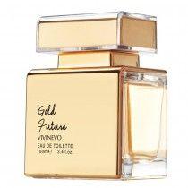 Perfume feminino Gold Future - Vivinevo 100ml (R$134,90) Eau de Toilette - Fragrância Floriental Frutal