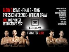 Kickboxing, Finals, Conference, Rome, Draw, News, Movie Posters, Film Poster, To Draw