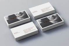 Business card - b&w with metallic foil