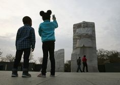 Pin for Later: April's Best Pictures From Around the World Sweet Snap In Washington DC, a child snapped a picture of the Martin Luther King Jr. Memorial on the anniversary of the civil rights leader's death.