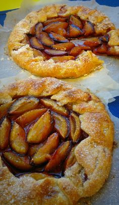 Gallete with plums...