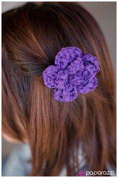 Braided Bouquet - Purple  paparazziaccessories.com/28615