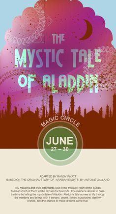 #TheMysticTaleofAladdin #CircleTheatre 2013