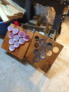 Outdoor beer pong! I remade a game that I had bought that fell apart. Mine is much nicer and much much sturdier.