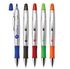Viva pen/highlighter - Metallic G1255 Promotional Pens, Metallic, Sweet