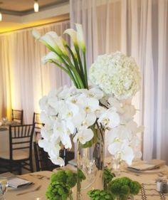 My fav ; orchids, hydrangeas, & calla lilies