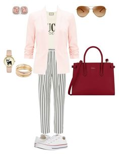 """""""city casual"""" by kati-style-istanbul ❤ liked on Polyvore featuring Gucci, TIBI, Miss Selfridge, Converse, Furla, Tory Burch, Mudd and Allurez"""