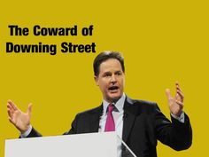 Slave #Britain: Yellow is an appropriate colour for the LibDems as Clegg  U-turns on bedroom tax (#bedroomtax #welfare #clegg #libdem #pover...