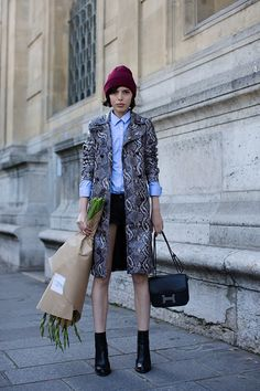 On the Street | quai Malaquais, Paris; the sartorialist