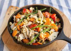 Deze heerlijke en gezonde maaltijd voor doordeweeks maak je gewoon in 1 pan. Wat ons betreft is dit maaltje een win-win-win situatie; weinig afwas, lekker én gezond. Wat wil je […]