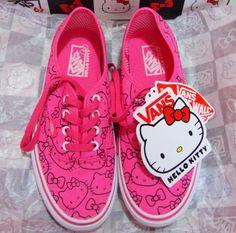 Hello Kitty Vans...Hell Yeah!!