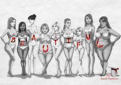 Beautiful Body Typesby IsaiahStephens