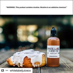 It's the weekend...indulge! Try White Label's Cinnamon Roll for only $19.99 for 100ml #Repost @whitelabeljuiceco with @repostapp  White Label Juice Co.  Skip the calories not the flavor!   Use #whitelabeljuiceco to be featured  Where are we going vape fam? #eliquid #ejuice #ejuicesale #whitelabeljuiceco #vapingstyle #vaping #vaping #vapinggood #maxvaping #westcoastvapers #instavapers #vapestagram #vapenation #vapeporn #vapeworld #vapingsavedmylife #westcoast #ejuice #vapefamily #vapedaily
