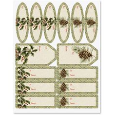 Botanical Windows Labels *** Check out the image by visiting the link.