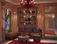 Гостиная в восточном стиле. Автор проекта: Люстьена Фирсова. #дизайнинтерьера #igenplan #дизайнгостиной  #интерьергостиной  #гостиные