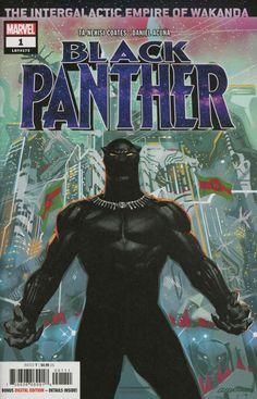 COMIC BOOK: Black Panther # 1 (Vol VII). PUBLISHER: Marvel Comics. WRITER(S) Ta-Nehisi Coates. ARTIST: Daniel Acuna. COVER ARTIST: Daniel Acuna. ORIGINAL RELEASE DATE: 5 / 23 / 2018. COVER PRICE: $4.99. RATING: Teen +.