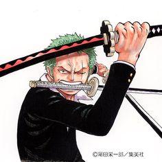 Zoro One Piece, One Piece Ace, One Piece Fanart, Roronoa Zoro, Manga Anime One Piece, Manga Art, Manga Mafia, Watch One Piece, One Piece Funny