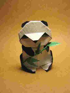 Un origami panda !