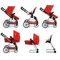 Love! This doll stroller is a replica of Gracie's!!!