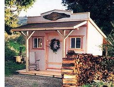 California Custom Sheds - 8' Wide Western