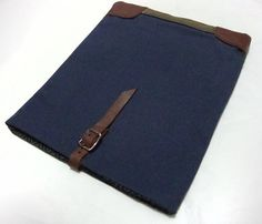 Waxed Canvas Macbook Case / by McLovebuddy
