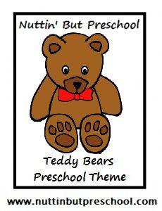 Teddy Bear Theme: Games. Bear freeze game and hide and seek bears or pretend to hibernate