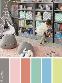 Searching for kids playroom ideas? The Land of Nod has tons of inspiration for every girls or boys playroom design. We all know that any playroom should be filled with personal and stylish details. That's why we've got a mega lineup of kids furniture, storage options and organization ideas to match a variety of styles. Don't forget to top it all off with playful kids decor, too.: