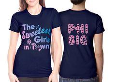 "Sorority Screen-Printed T-Shirts ""The Sweetest Girls in Town"" Design #Greek #Sorority #Clothing #Recruitment #Rush #BidDay"
