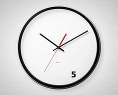5 O'Clock Wall Clock | 30 Wall Clocks