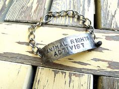 Animal Rights Activist Bracelet