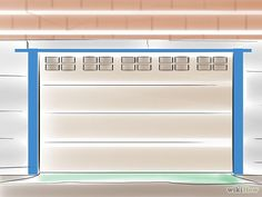 Painting your garage door Garage Door Paint, Garage Door Makeover, Garage Door Repair, Garage Doors, Do It Yourself Garage, Garage Door Maintenance, Door Steps, Painted Doors, Home And Garden