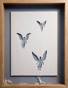10 ongelofelijke papierkunst creaties.  papierkunst van de Deense kunstenaar Peter Callesen.