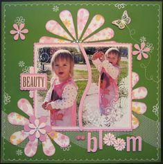 Beauty in Bloom - Scrapbook.com