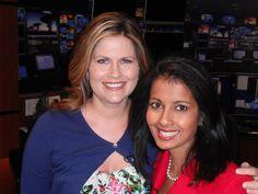 Kristen welcomes Jasmine Huda to News 4 - St. Louis, Missouri, 2010