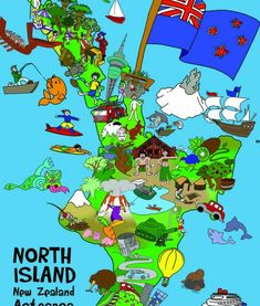 Made from heavy duty card these floor puzzles are great for young hands. Floor Puzzle, Island Map, Nifty, New Zealand, Jigsaw Puzzles, Flooring, Hands, Memories, Dreams