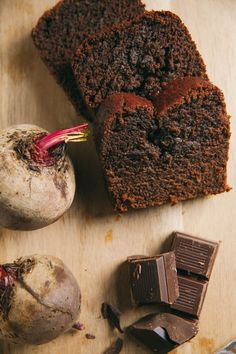 A perfect Valentine's Day alternative to Red Velvet Cake! Super healthy Chocolate Beet Loaf Cake from the Mast Brother's Cookbook!