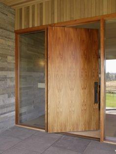 90 Modelos De Portas: Tipos, Correr, Madeira, Vidro E Fotos. Wood Entry DoorsEntrance  DoorsHouse ...