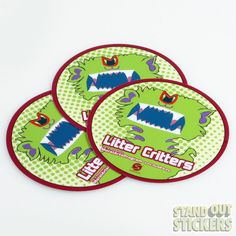 Circle Custom Vinyl Stickers
