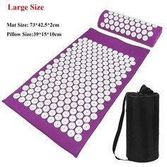 Acupressure Mat and Pillow Set - Purple