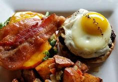 Little Goose Brunch Burger by Chef Daniel Montanez from Norwalk, CT