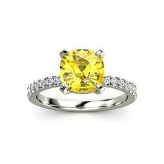 I think I might want a yellow diamond