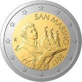 2 euro San Marino 2017