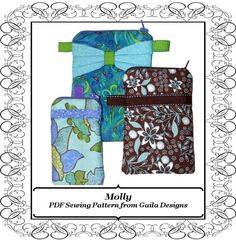Looking for your next project? You're going to love Cell Phone Case 3 Sizes & Styles Molly by designer Gaila Designs.