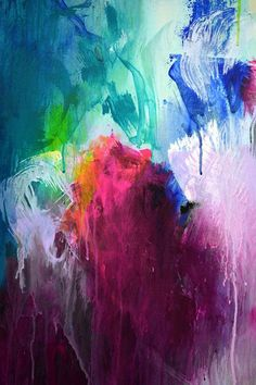 Original XXL extra large abstract painting by ARTbyKirsten on Etsy