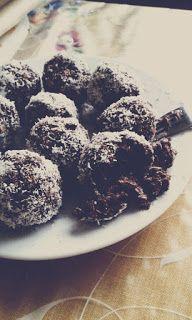 Novinky: Kokosovo-kakaové (fitness) guľôčky