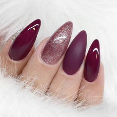 Hot Almond Shaped Nails Colors to Get You Inspired to Try ★ See more: https://naildesignsjournal.com/almond-shaped-nails-colors/ #nails