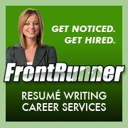 Frontrunner professional resume writing services
